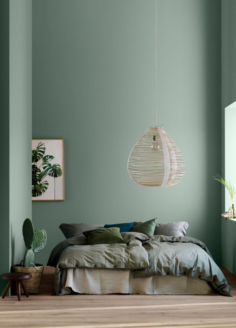 bedroom colors Bedroom Colors to Refresh Your Interior green