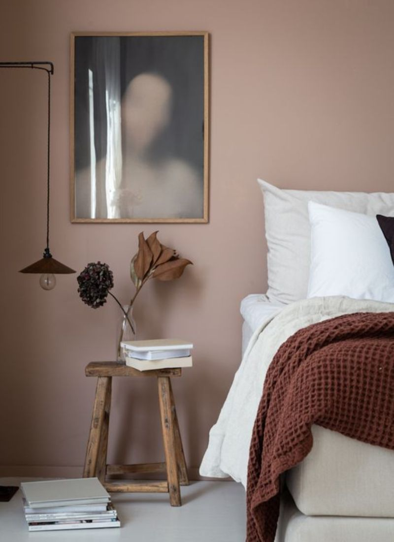 bedroom colors Bedroom Colors to Refresh Your Interior pink