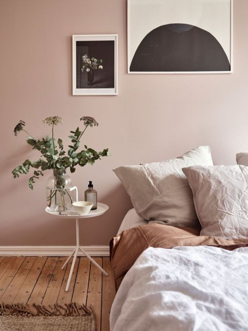 bedroom colors Bedroom Colors to Refresh Your Interior pink2
