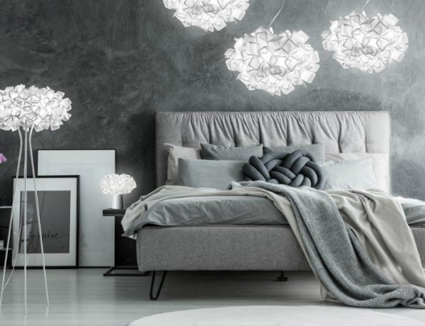 lighting ideas Best Lighting Ideas for Your Modern Bedroom slamp 600x460