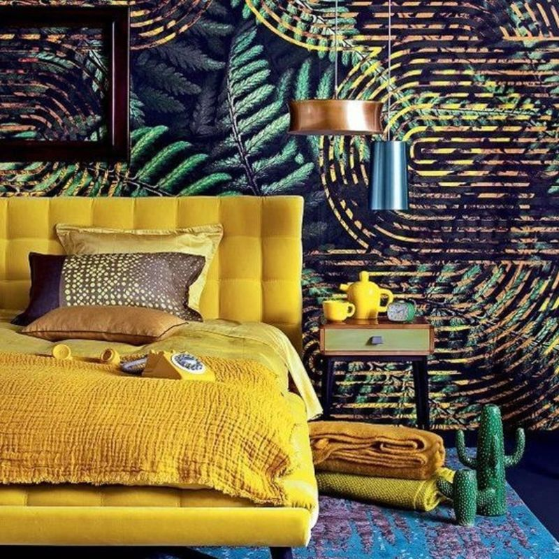 bedroom colors Bedroom Colors to Refresh Your Interior yellow 1