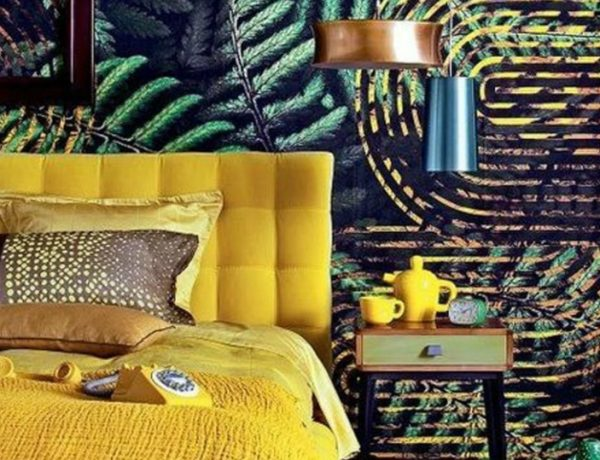 bedroom colors Bedroom Colors to Refresh Your Interior yellow 600x460