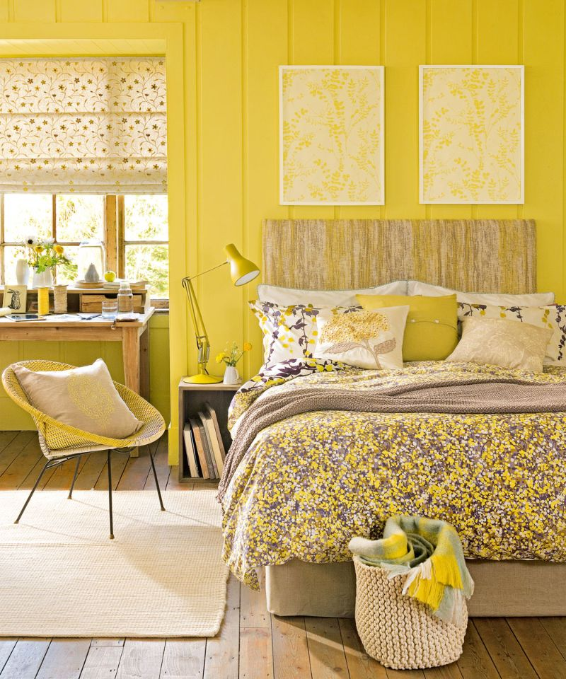 bedroom colors bedroom colors Bedroom Colors to Refresh Your Interior yellow2