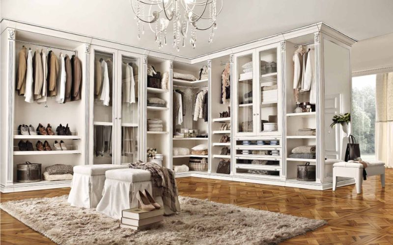 luxury closet Luxury Closet Ideas that Will Amaze You Benedetti Cabine Luxury Wh Sl 1