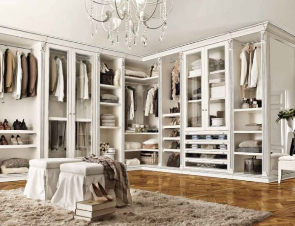 luxury closet Luxury Closet Ideas that Will Amaze You Benedetti Cabine Luxury Wh Sl 600x460