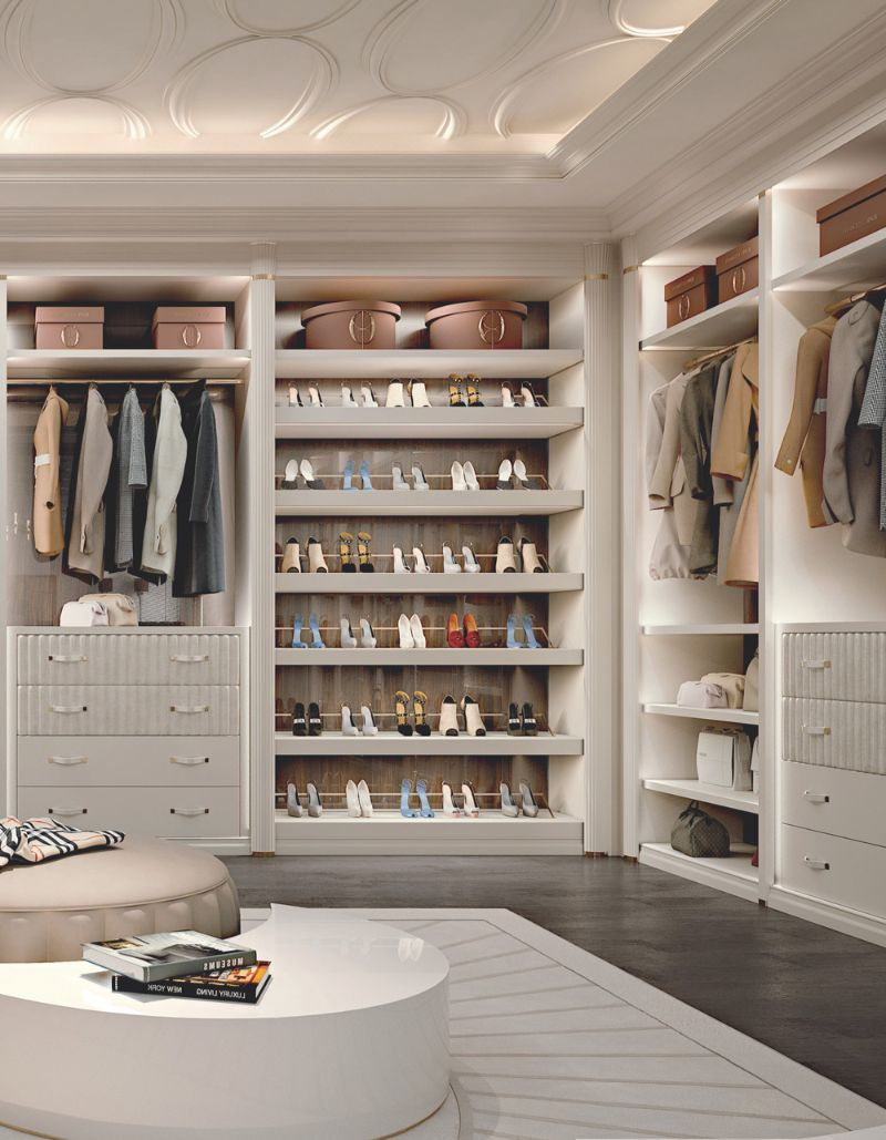 luxury closet Luxury Closet Ideas that Will Amaze You CabinaArmadioEllipseLR