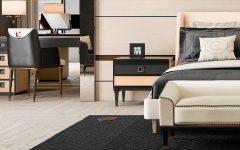 black nightstand Black Nightstand Ideas for Your Modern Bedroom Interior Cipriani Homood 240x150