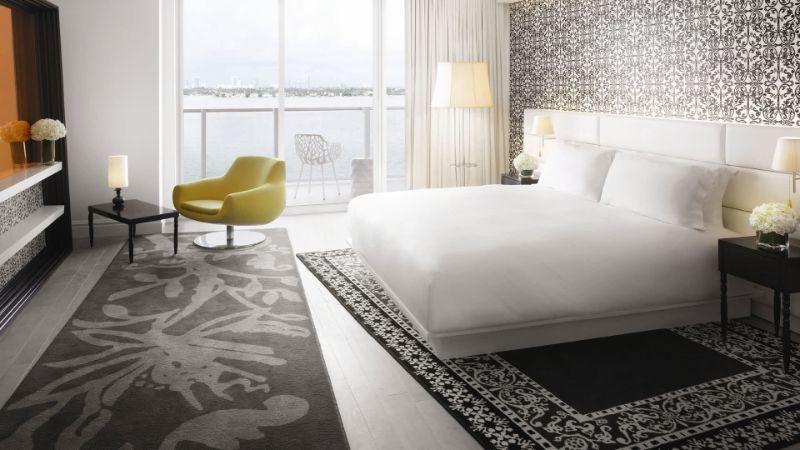 bedroom interior Bedroom Interior Designs by Marcel Wanders Morgans Hotel Group   Mondrian South Beach   10 web