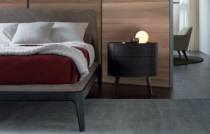 wooden nightstand Wooden Nightstand Ideas for Your Modern Bedroom Poliform 2018 1