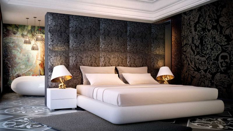 bedroom interior Bedroom Interior Designs by Marcel Wanders Private Client Taipei Residence 0