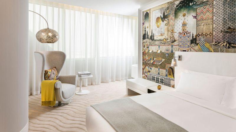 bedroom interior Bedroom Interior Designs by Marcel Wanders SBE Mondrian Doha Marcel Wanders 13