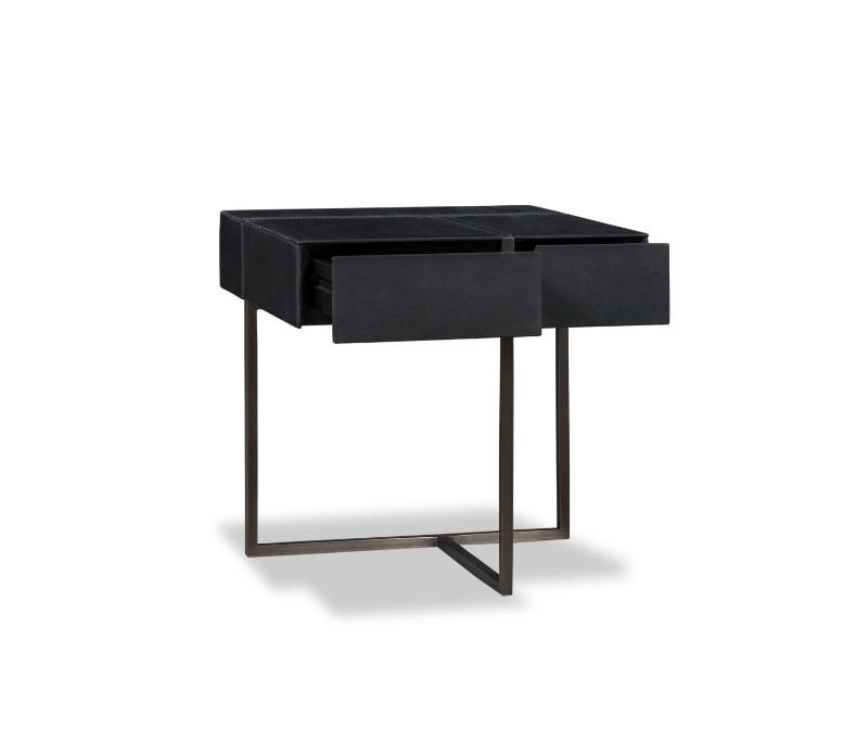 black nightstand Black Nightstand Ideas for Your Modern Bedroom Interior baxter