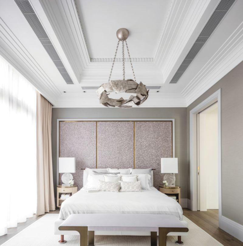 bedroom interior Light Coloured Bedroom Interior Ideas by Famous Designers david collins