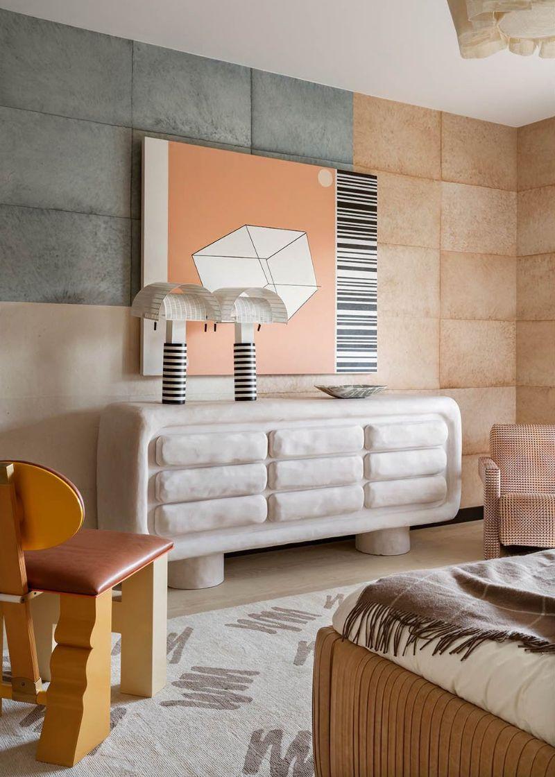 bedroom interior Bedroom Interior Designs by Kelly Wearstler harper