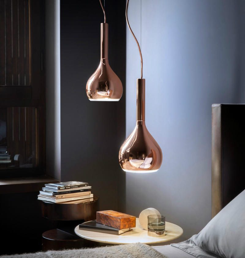 bedroom lighting Bedroom Lighting that Will Create Amazing Ambiance oluce2