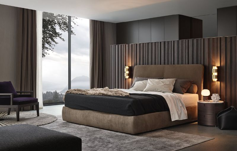 luxury furniture Luxury Furniture for Your Master Bedroom poliform bed 1