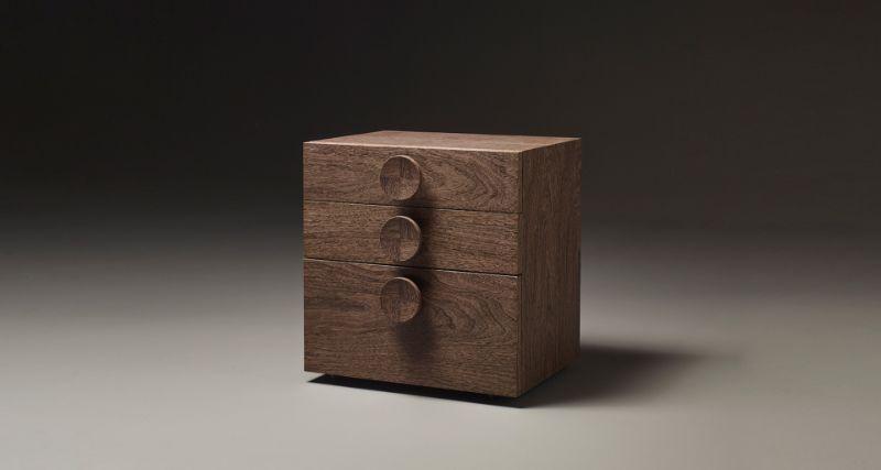 wooden nightstand Wooden Nightstand Ideas for Your Modern Bedroom promemoria dagoberto bedside table g1