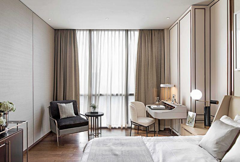 bedroom interior Light Coloured Bedroom Interior Ideas by Famous Designers ptang studio