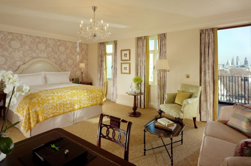 luxury hotel Top Luxury Hotel Suites in London savoy2