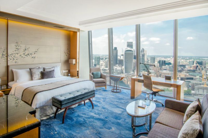 luxury hotel Top Luxury Hotel Suites in London shangri la 1
