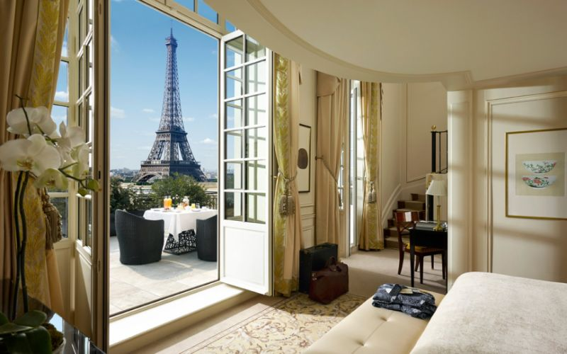 luxury hotel Best Luxury Hotel Suites in France shangri la paris
