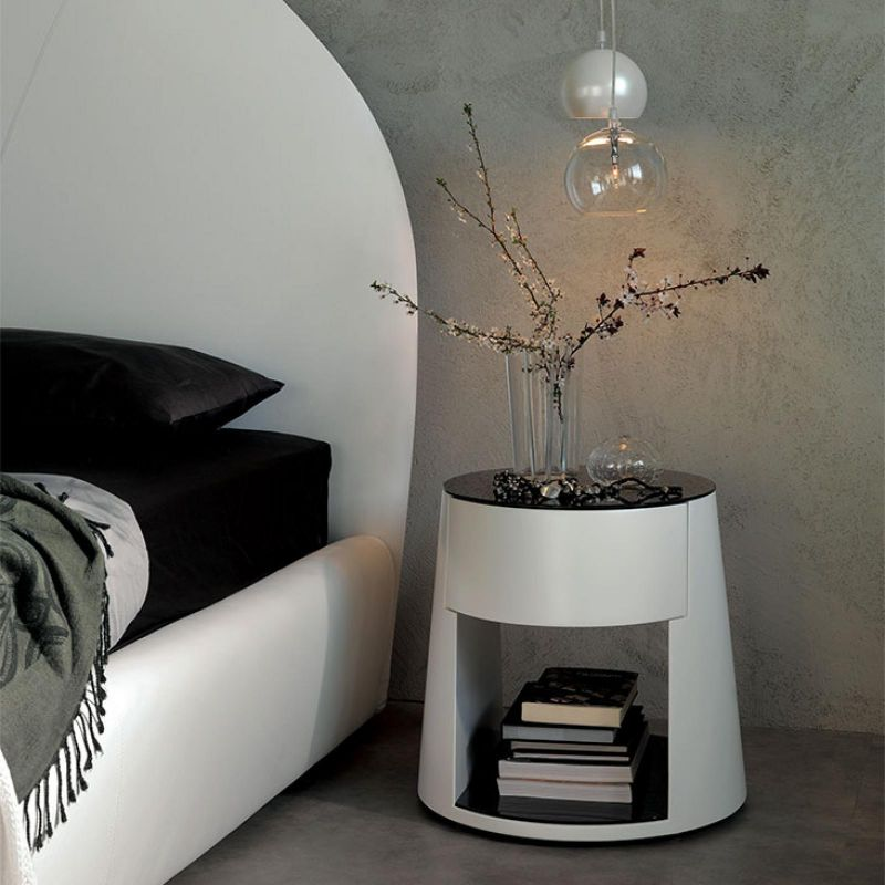 white nightstand white nightstand White Nightstand Designs for Your Modern Bedroom Interior 11528905000