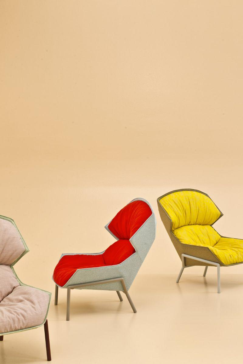 modern armchair Modern Armchair Designs by Patricia Urquiola DK3E5102