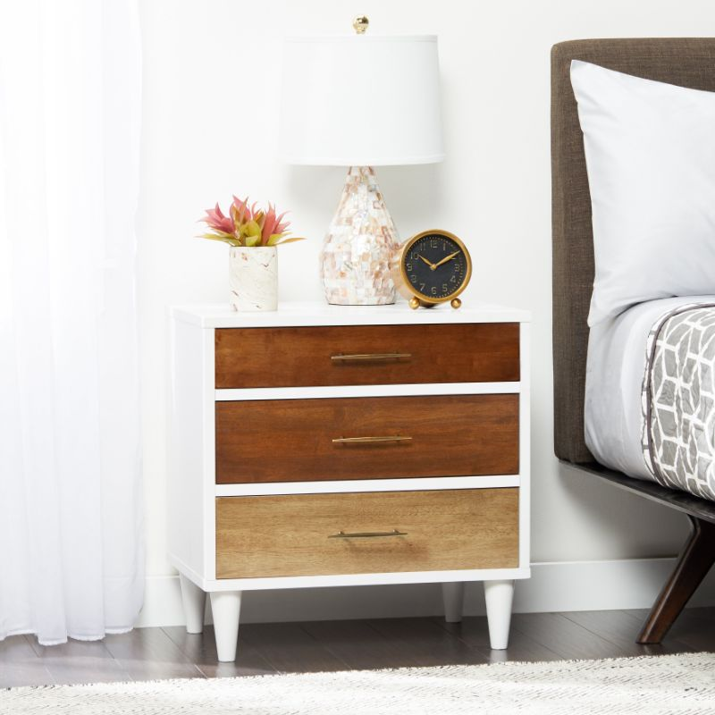 white nightstand White Nightstand Designs for Your Modern Bedroom Interior L16671000
