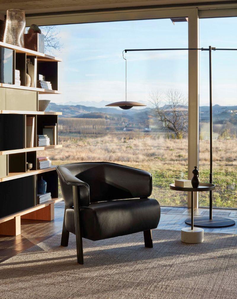 modern armchair Modern Armchair Designs by Patricia Urquiola black wing
