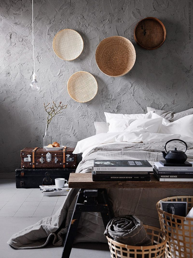 bedroom walls Inspiring Ideas for Your Bedroom Walls concrete2