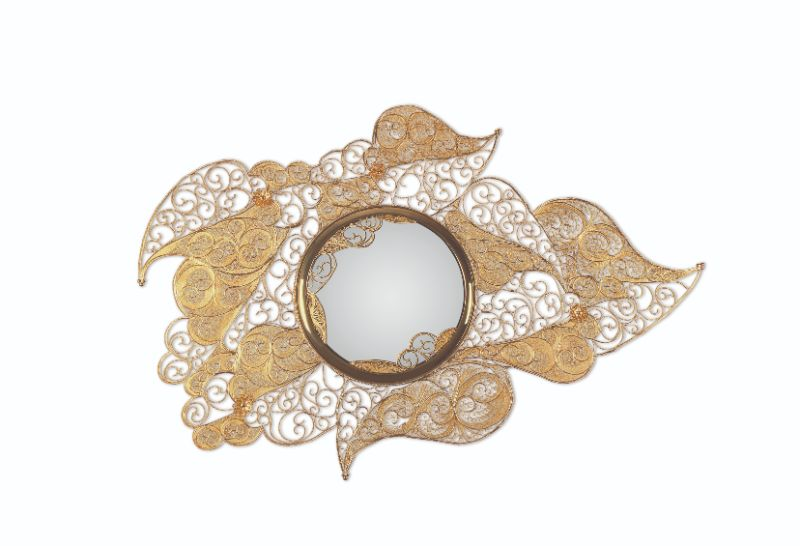 luxury design Luxury Design and Craftsmanship Summit 2019: Celebrating Arts filigree mirror 01