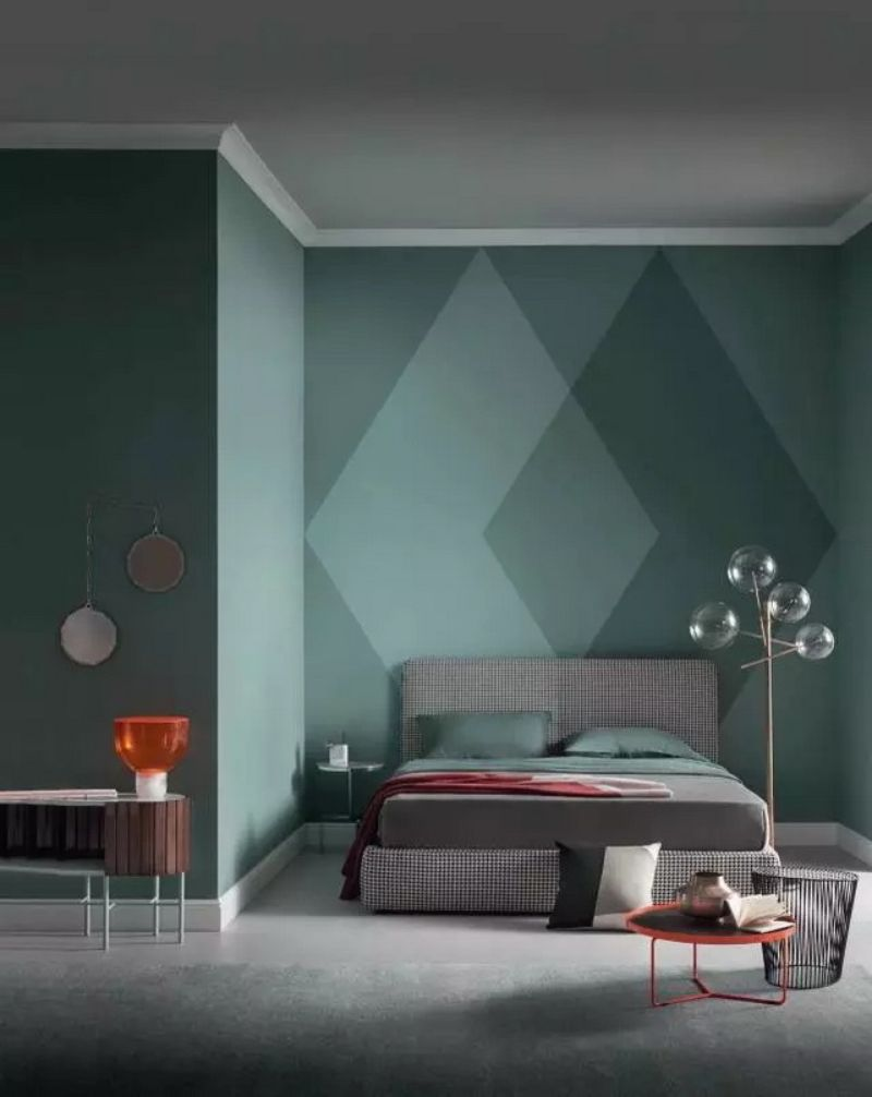 bedroom walls Inspiring Ideas for Your Bedroom Walls geometry