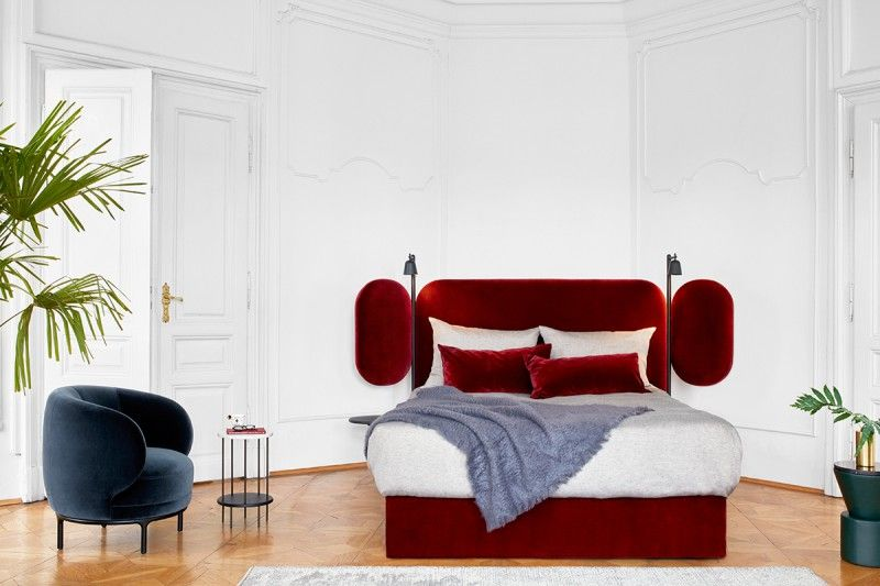 modern bedroom modern bedroom Inspiring Design Trends for Your Modern Bedroom hayon velvet