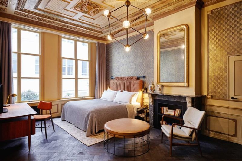 hotel suite hotel suite Top Luxury Hotel Suite Designs in Amsterdam hoxton