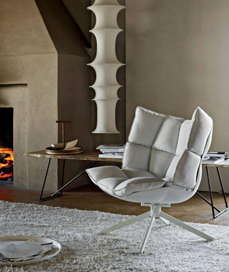 modern armchair modern armchair Modern Armchair Designs by Patricia Urquiola husk