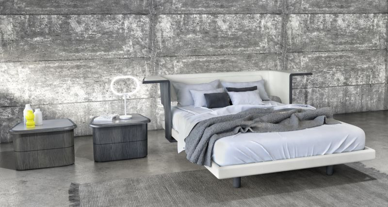 modern nightstand Get Inspired by Best Modern Nightstand Designs karim rashid2 1