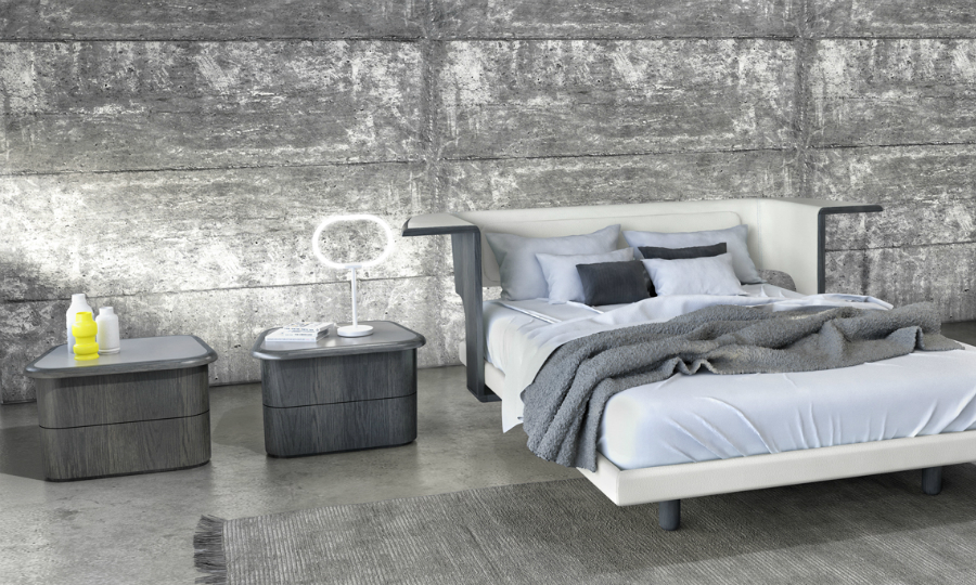 modern nightstand Get Inspired by Best Modern Nightstand Designs karim rashid2