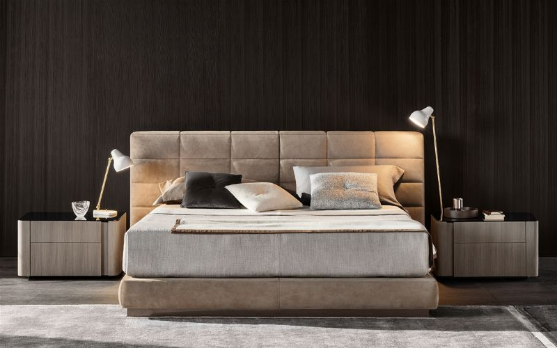 bedroom furniture Modern Bedroom Furniture by AD Top 200 Design Influencers minotti 1