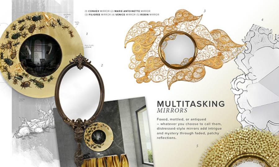 modern bedroom Inspiring Design Trends for Your Modern Bedroom mirrors