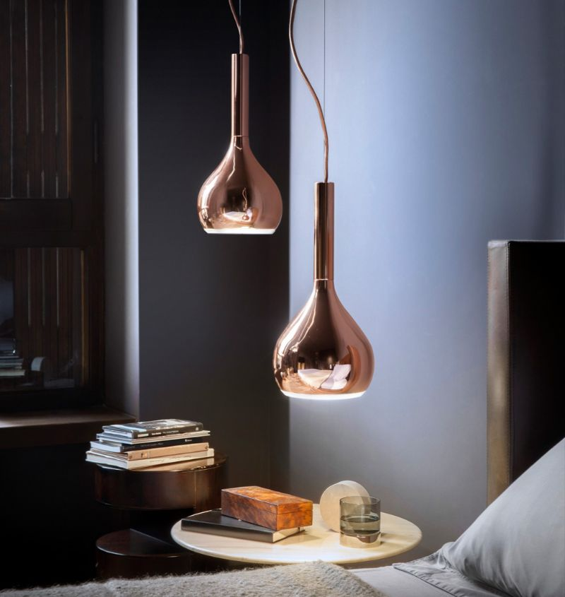 suspension lamps Suspension Lamps that Create Proper Ambience in Your Master Bedroom oluce 2