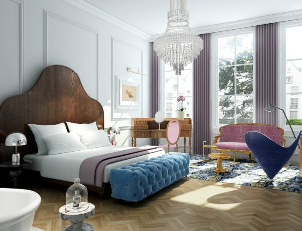 hotel suite Top Luxury Hotel Suite Designs in Amsterdam pulitzer 600x460