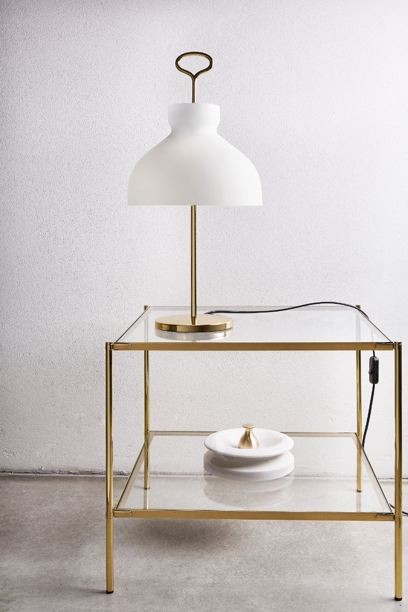 bedroom lamp Bedroom Lamp Ideas that Will Inspire You Arenzano brass ambient