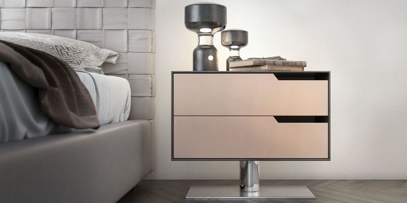 contemporary nightstand Contemporary Nightstand Ideas for Your Modern Bedroom Contemporary Nightstand 1