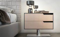 contemporary nightstand Contemporary Nightstand Ideas for Your Modern Bedroom Contemporary Nightstand 240x150