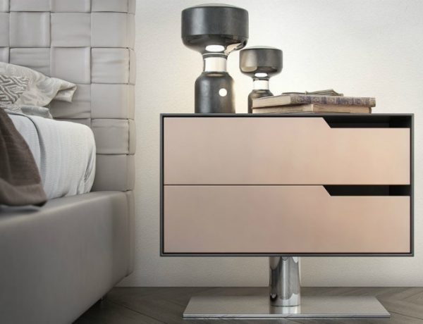 contemporary nightstand Contemporary Nightstand Ideas for Your Modern Bedroom Contemporary Nightstand 600x460