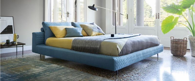 bedroom interior Explore Summer Trends for Your Bedroom Interior blue