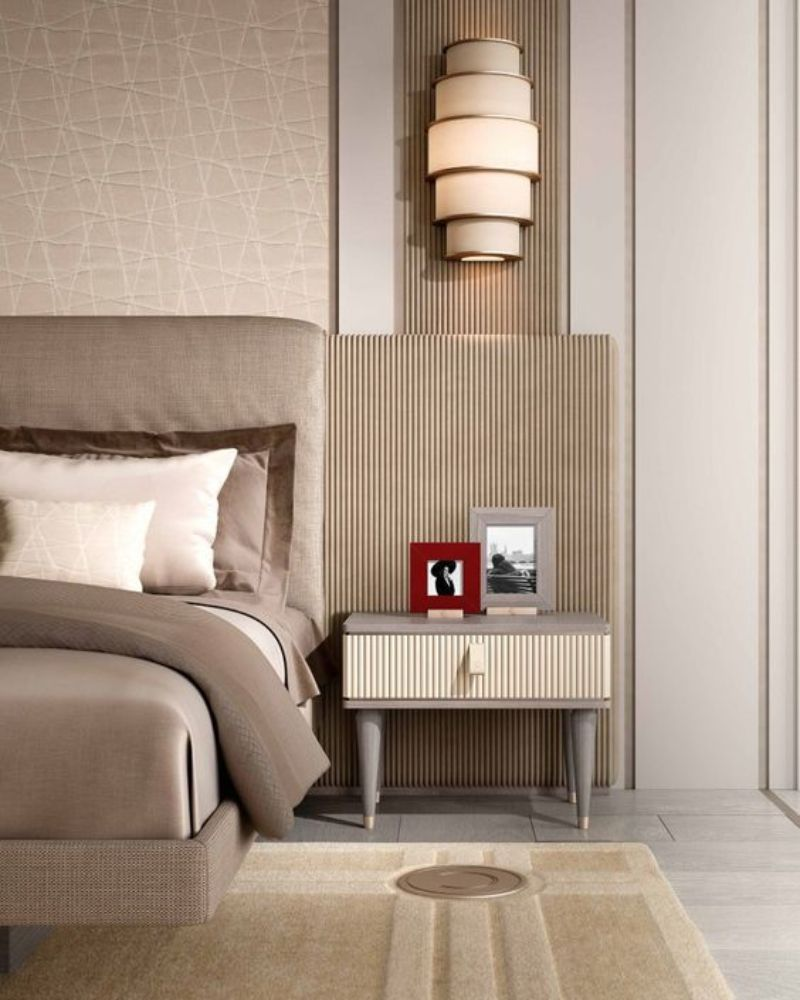 contemporary nightstand Contemporary Nightstand Ideas for Your Modern Bedroom ce40fdf4526095424d0f0b9c6b69d94f
