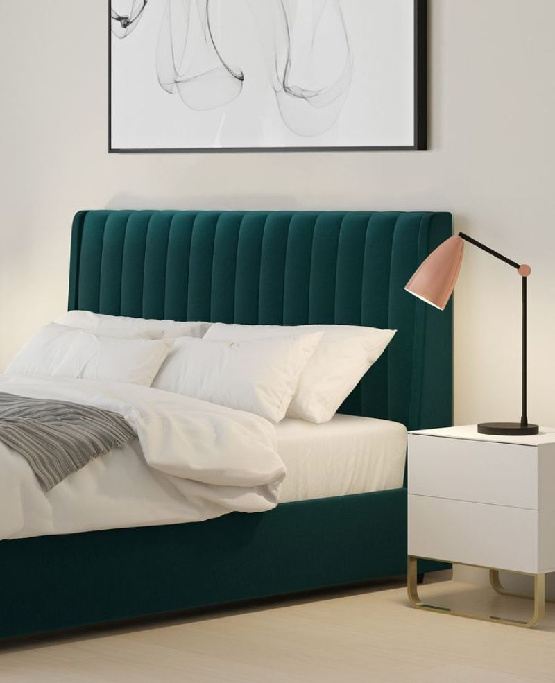 bedroom interior Explore Summer Trends for Your Bedroom Interior green
