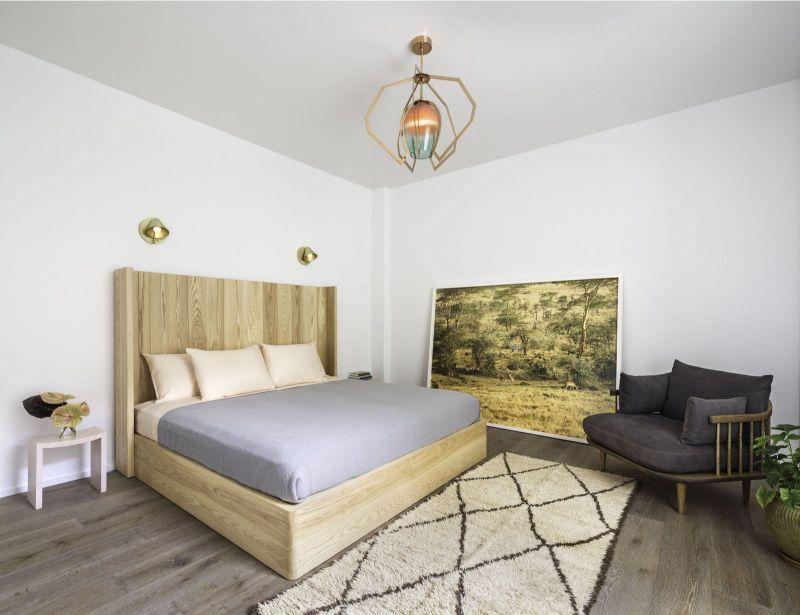 bedroom interior Elegant Bedroom Interior Designs in Celebrities' Homes matt damon