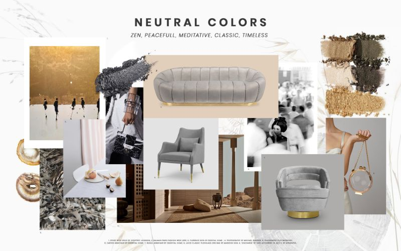 bedroom furniture Get Inspired by Top Trends for Your Bedroom Furniture moodboard trends 2019 neutral colors 2